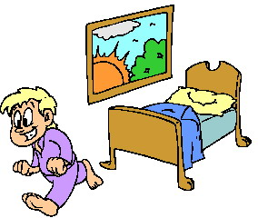 Boy Waking Up Clipart   Cliparthut   Free Clipart