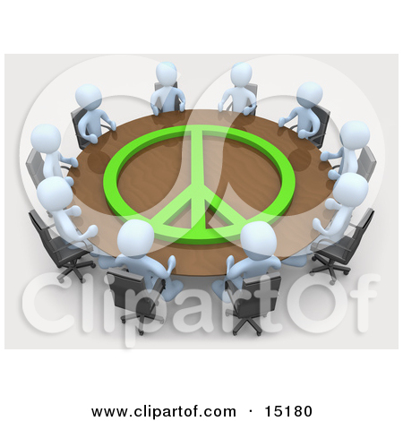 Conference Table In An Office Clipart Illustration Imag On Pinterest