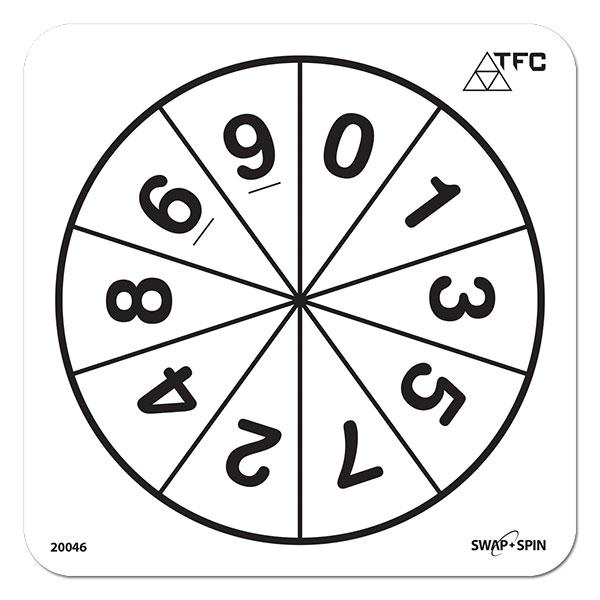 printable alphabet spinners number 0 9 clipart clipart suggest 2756