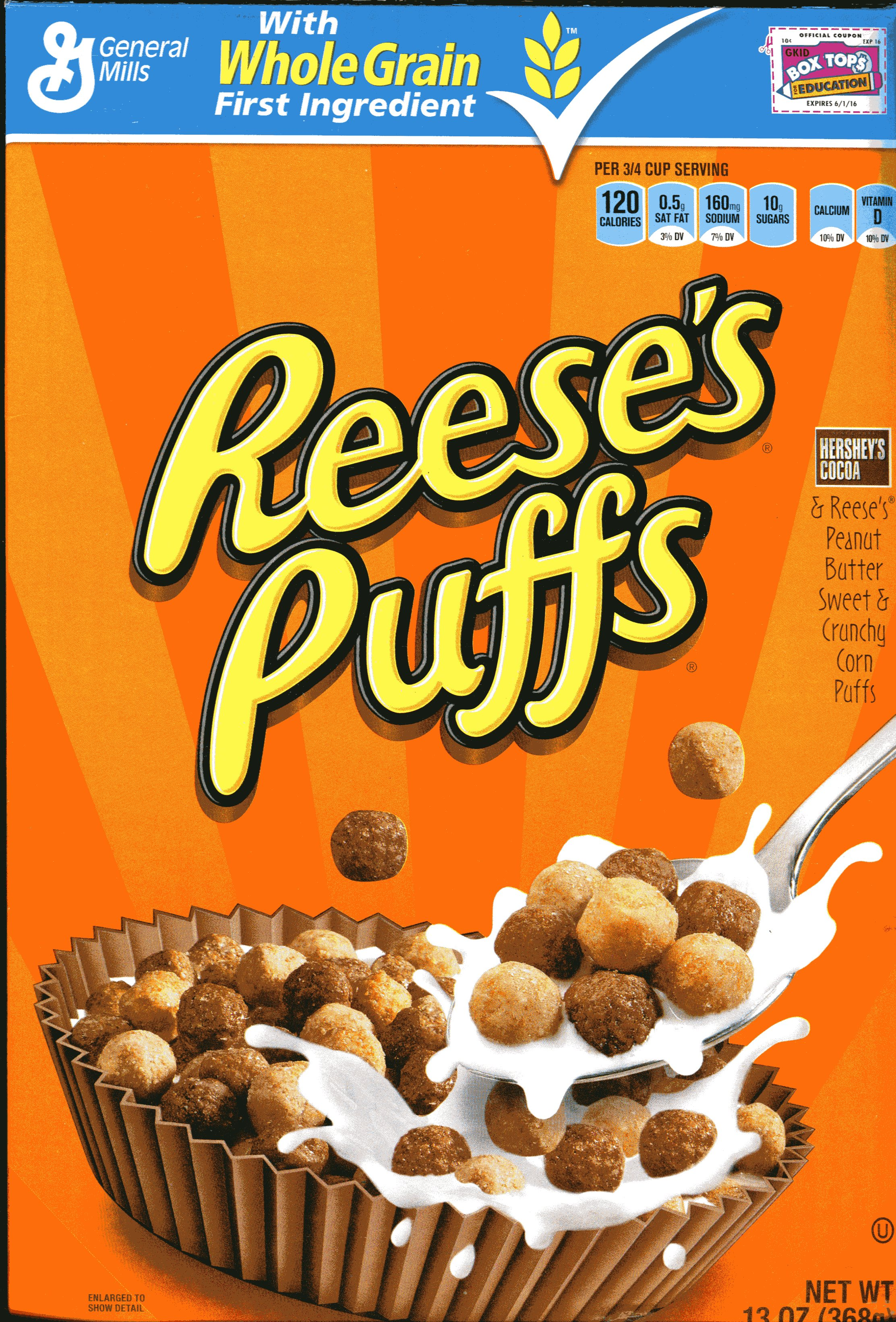 Reese 39 Cereal Box Clipart Clipart Suggest