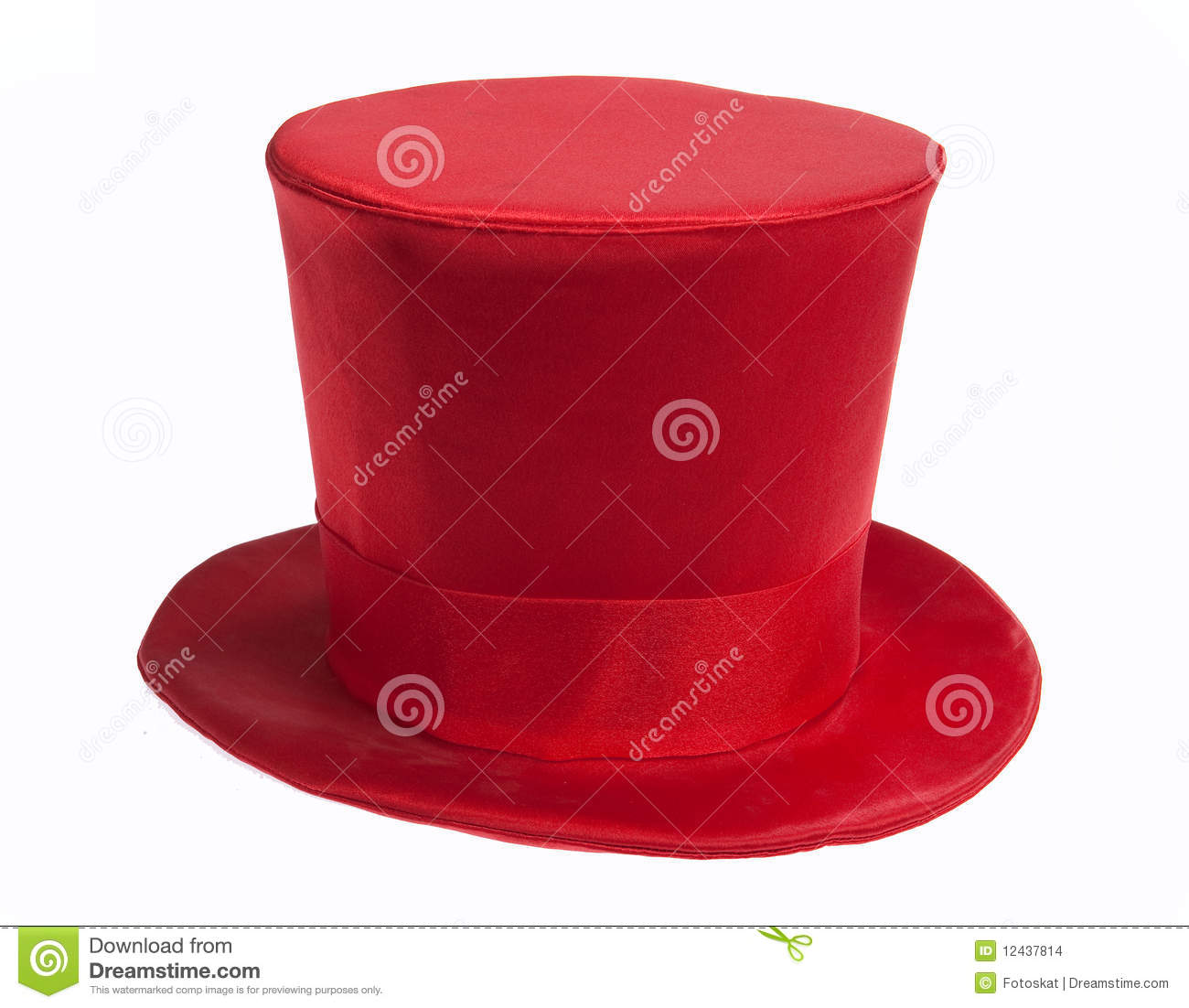 Red Top Hat Stock Images   Image  12437814