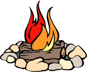 You Can Use This Nice Campfire Clip Art On Your Camping Or Outdoor