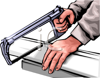 0903 2316 3625 Hands Using A Hacksaw To Cut Metal Clipart Image Jpg
