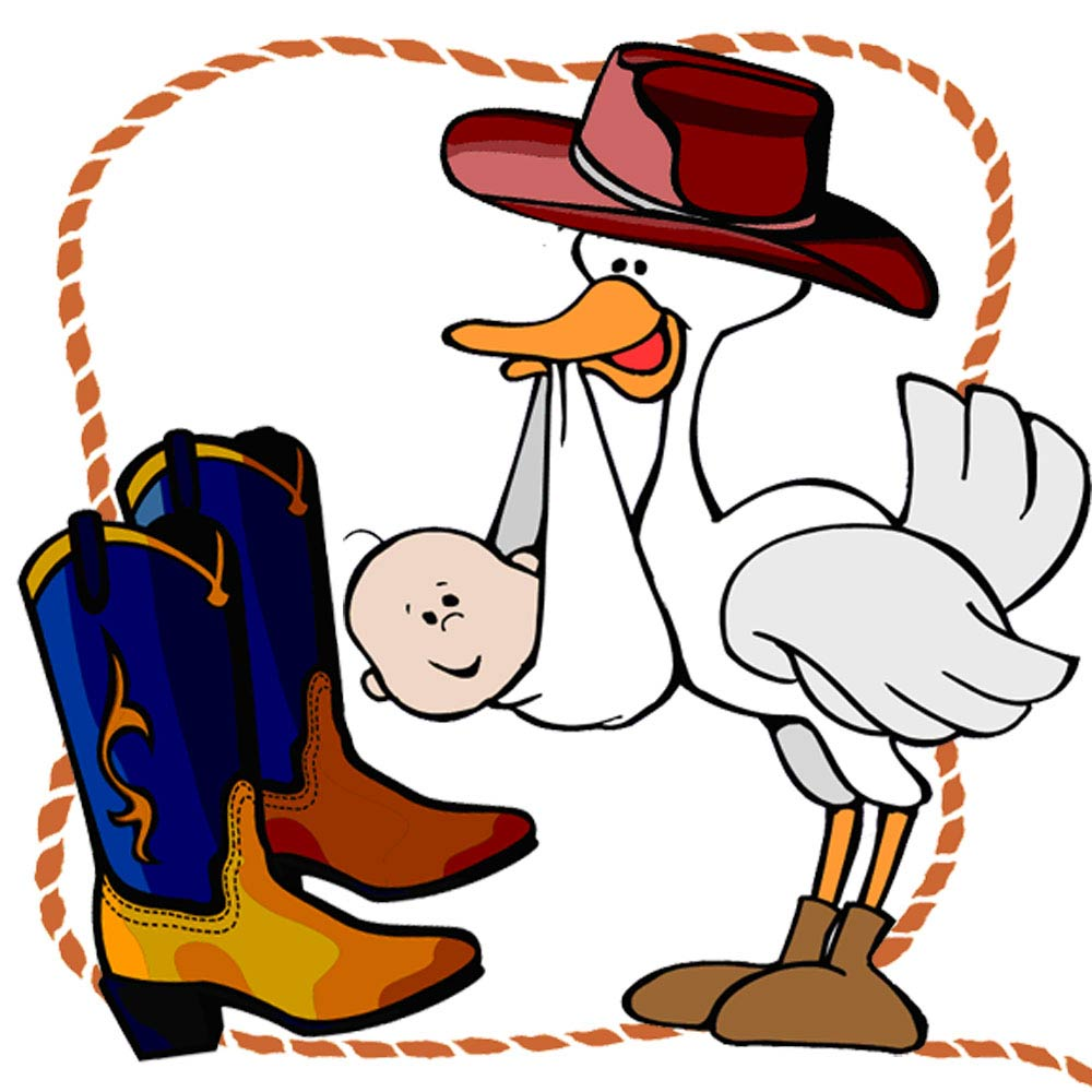 Cowboy Baby Shower Clipart - Clipart Kid