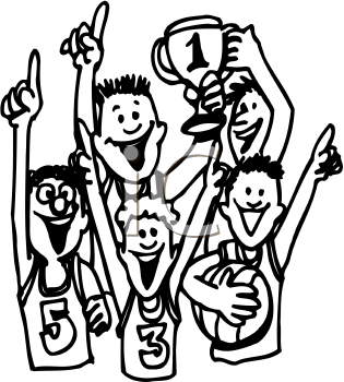 Basketball Team Clipart Images   Pictures   Becuo