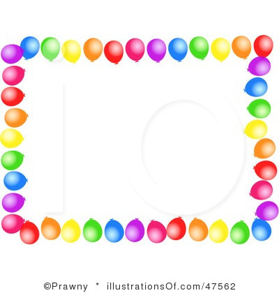 Birthday Party Border Clipart   Clipart Panda   Free Clipart Images
