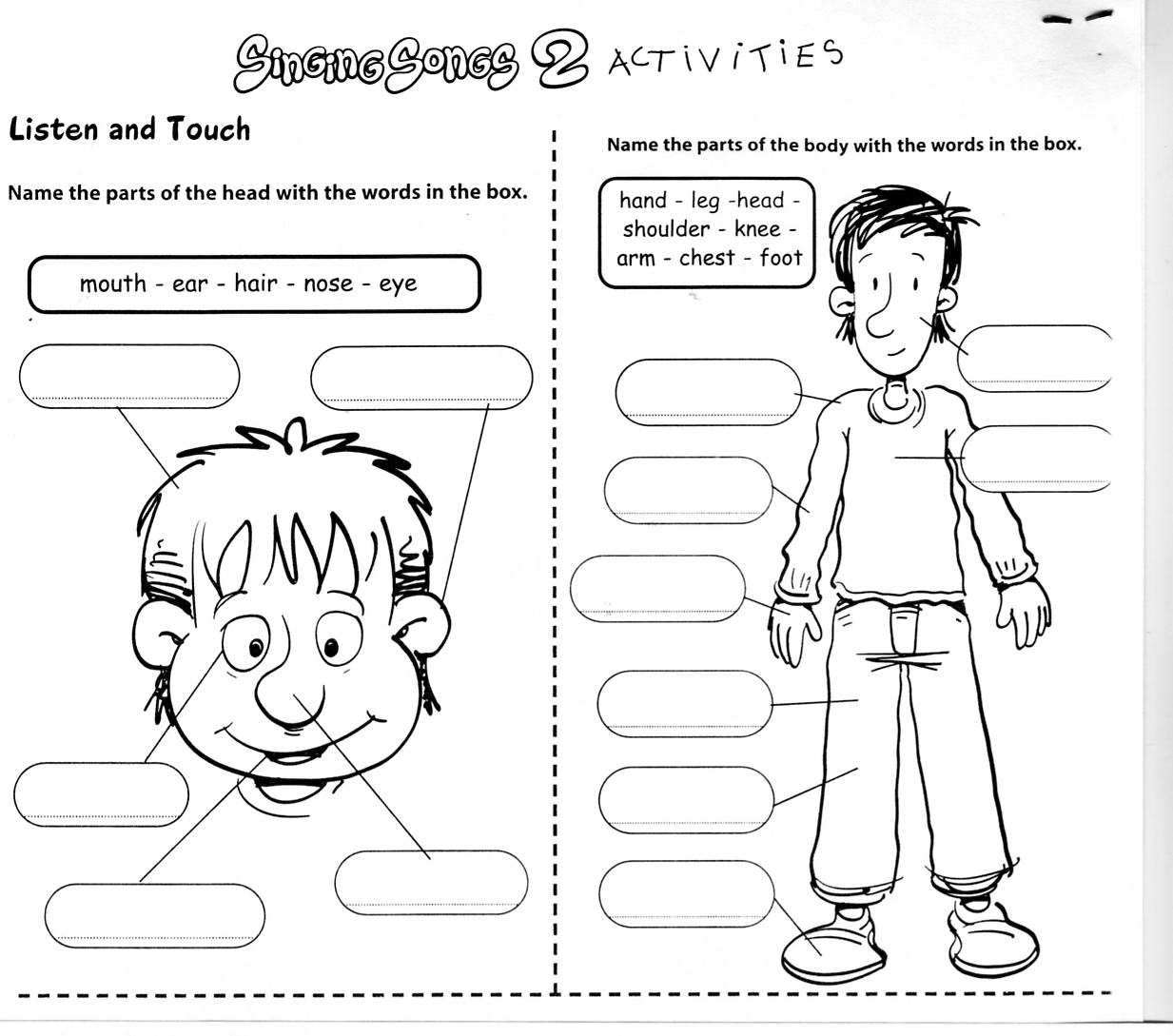 Printables Learning English Worksheets english learning worksheets abitlikethis body learningenglish esl