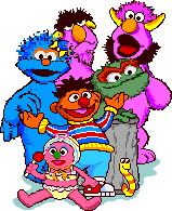 Sesame Street Borders Clipart - Clipart Kid
