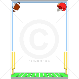 Football Borders Clipart - Clipart Kid