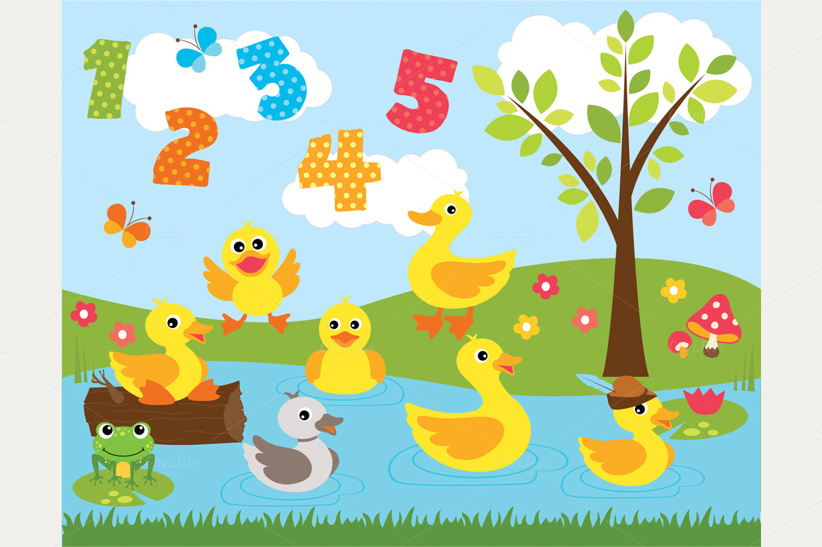 Duck Pond Clipart Ducks At The Pond O Jpg 1386951585