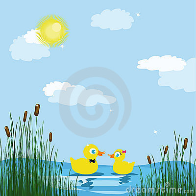 Duck Pond Game Clipart Ducks Pond 10867452 Jpg