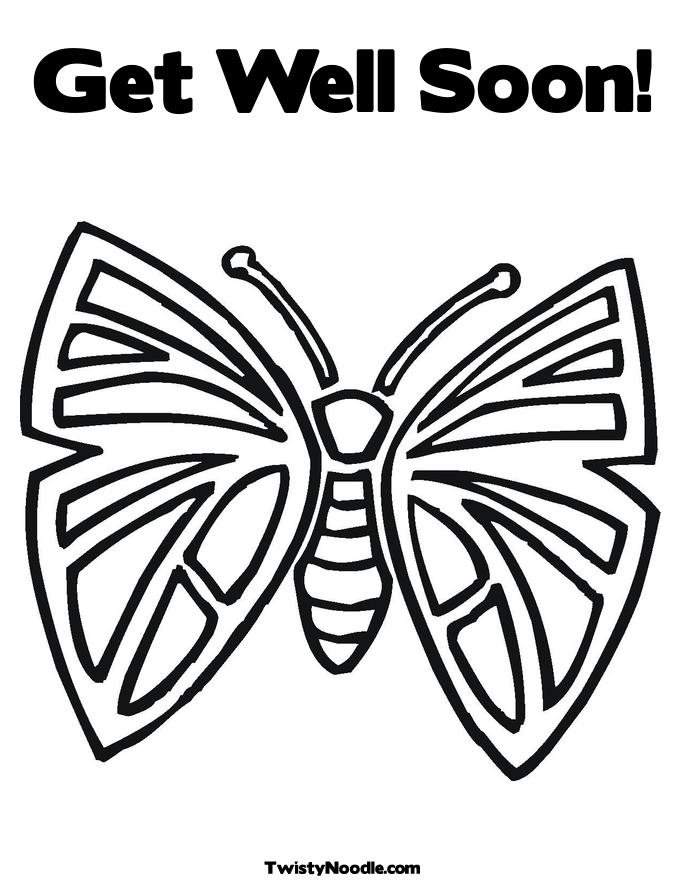 Get Well Soon Coloring Pages   Free Printable Coloring Pages