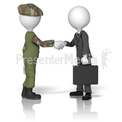 Military Business Handshake   Presentation Clipart   Great Clipart For