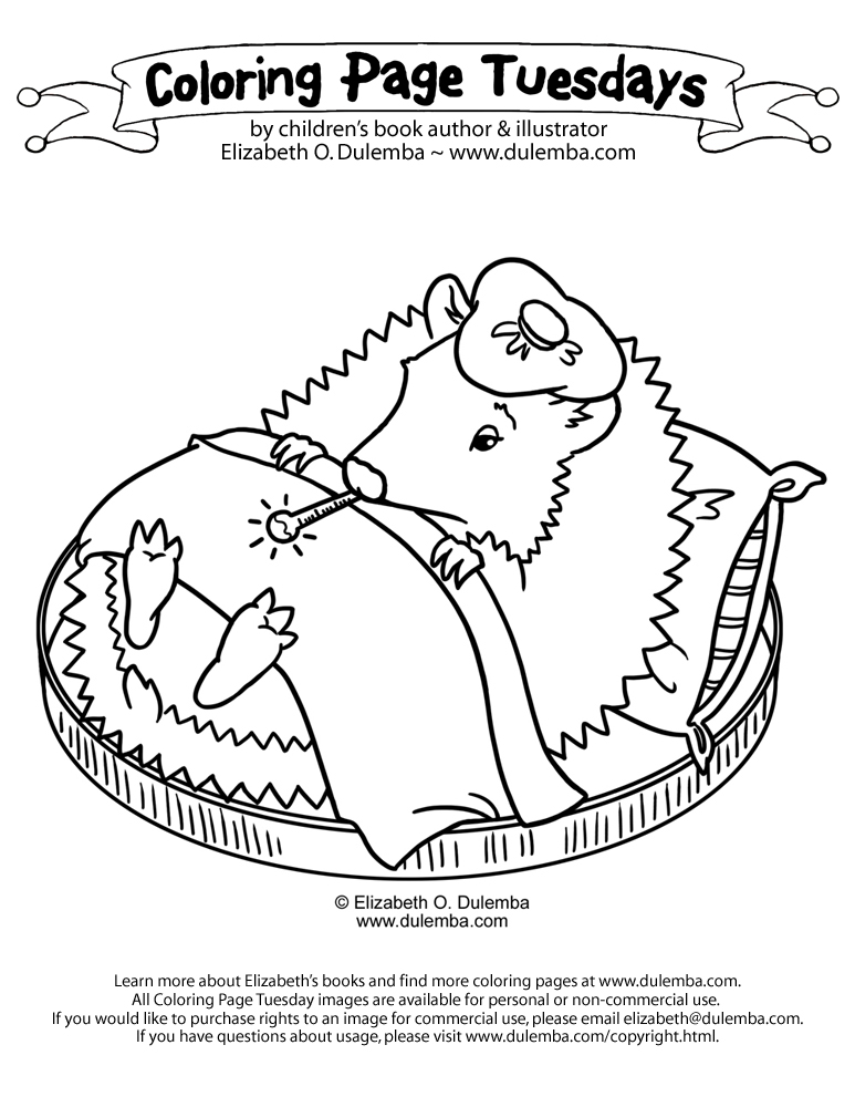 Feeling sick coloring pages coloring pages for Feel better coloring pages