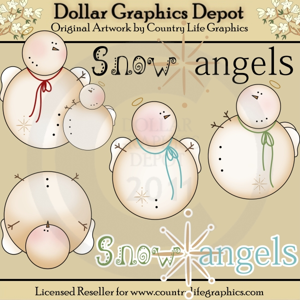 Snow Angel Clip Art Snow Angels 1   Clip Art