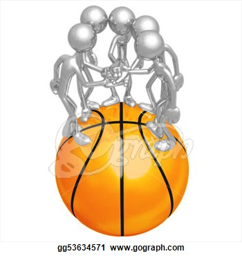 Stock Illustration   Basketball Team  Clip Art Gg53634571   Gograph