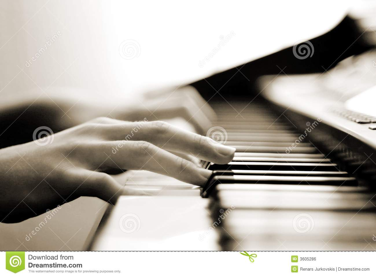 Tender Piano Music Royalty Free Stock Image   Image  3605286
