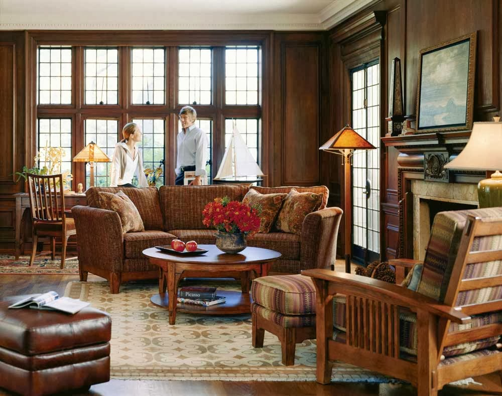 Traditional American Furniture Design Is Not Often Compatible With The