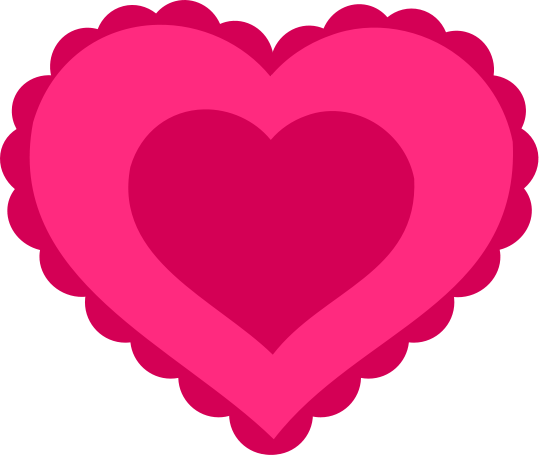 Valentines Valentine Hearts Lacey Heart Pink Lace Heart Png Html