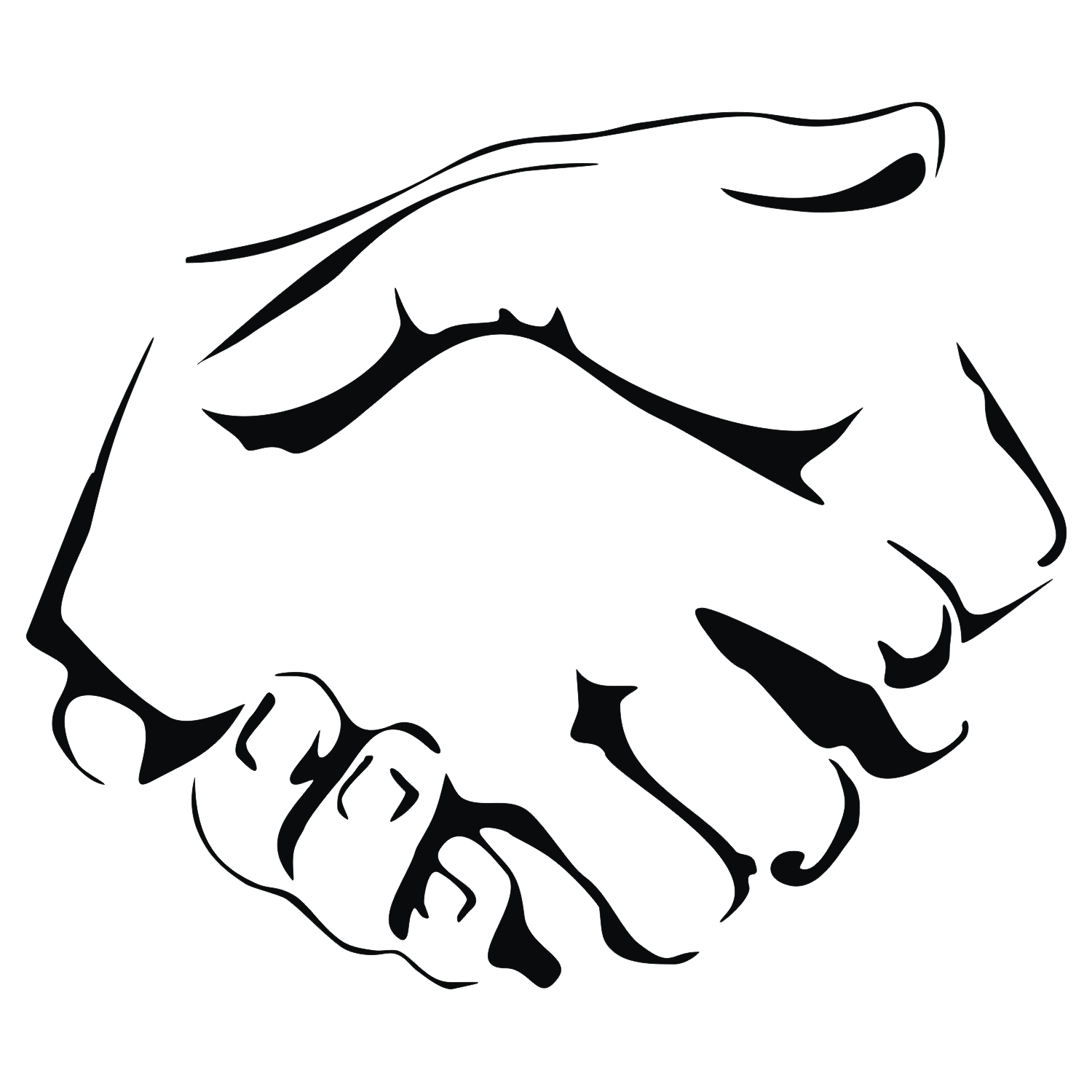 Vector For Free Use  Handshake Vector