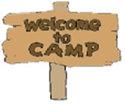 Image result for camp sign clipart