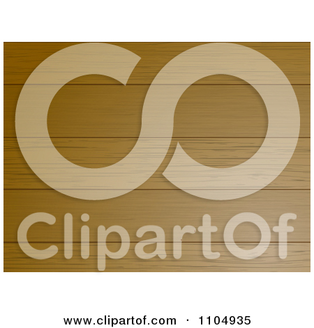 Clipart 3d Wood Panel Background   Royalty Free Vector Illustration By