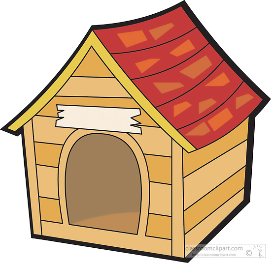 Clip Art Dog House Clipart dog house clipart kid objects 2 classroom clipart