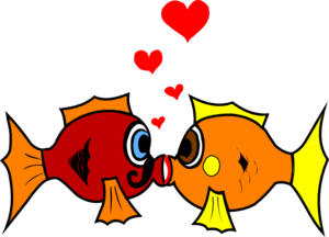 There Is 53 Cute Kissing Fish Free Cliparts All Used For Free