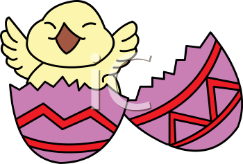 0511 0904 0205 4738 Chick Happy To Be Born Clipart Image Jpg