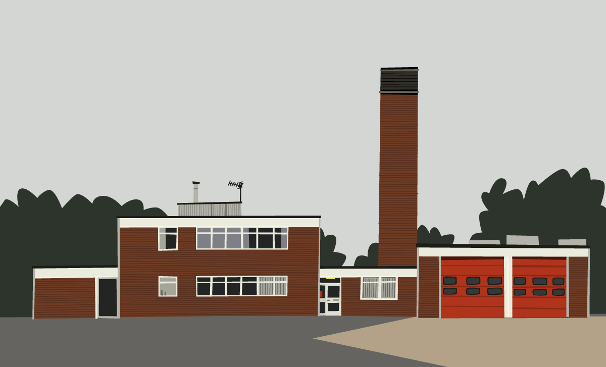clip art of fire station - photo #21