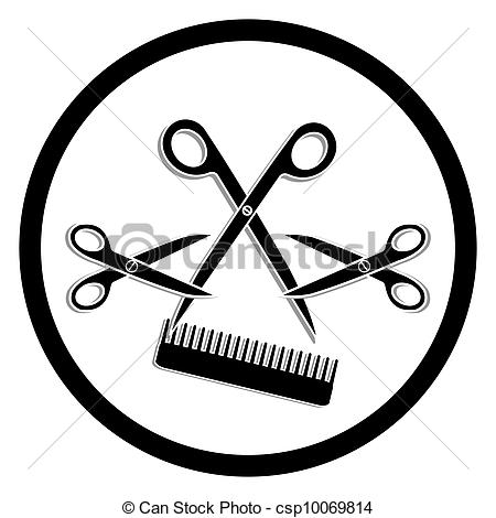 Haircut Salon Clipart - Clipart Kid