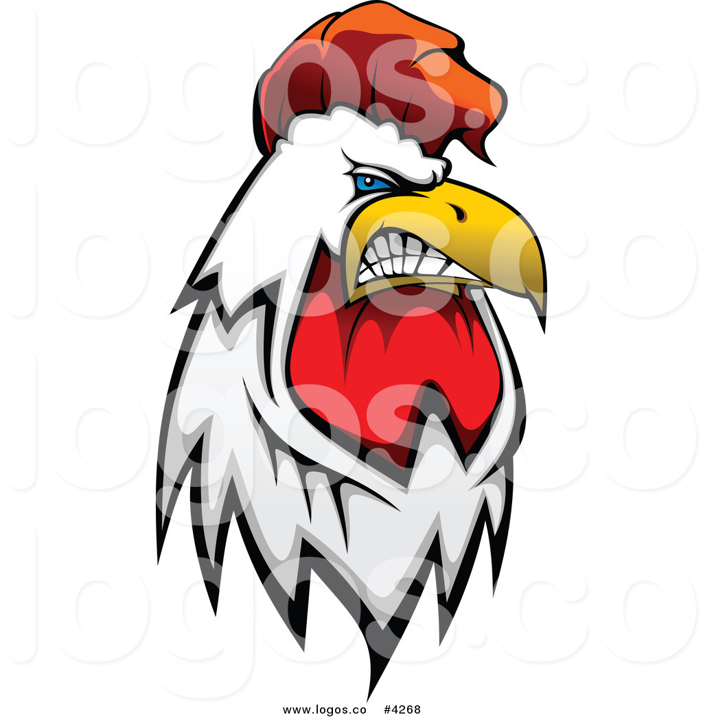 Royalty Free Mad Rooster Logo By Seamartini Graphics    4268