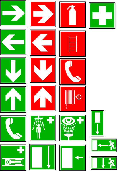 Safety And Security Symbols Clip Art At Clker Com   Vector Clip Art