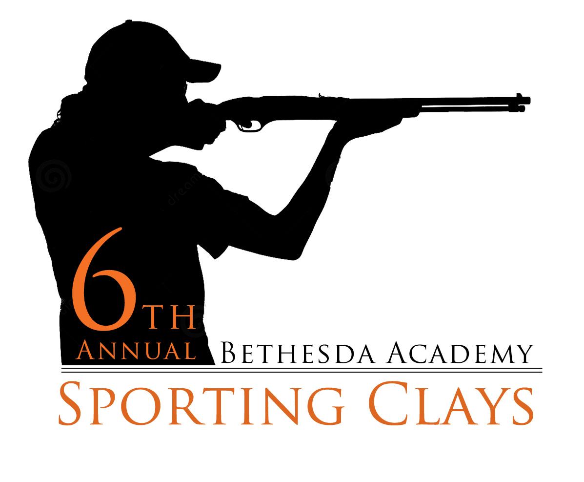 Clay pigeon shooting logos