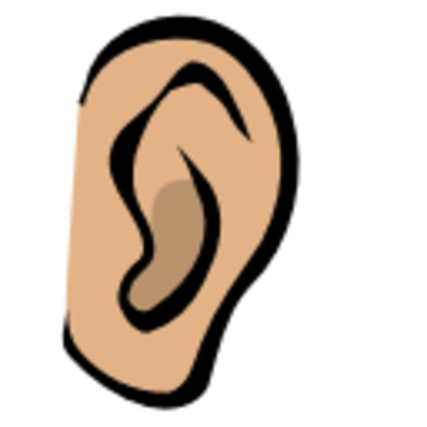 Cartoon Ears Clipart Two Ears Clipart
