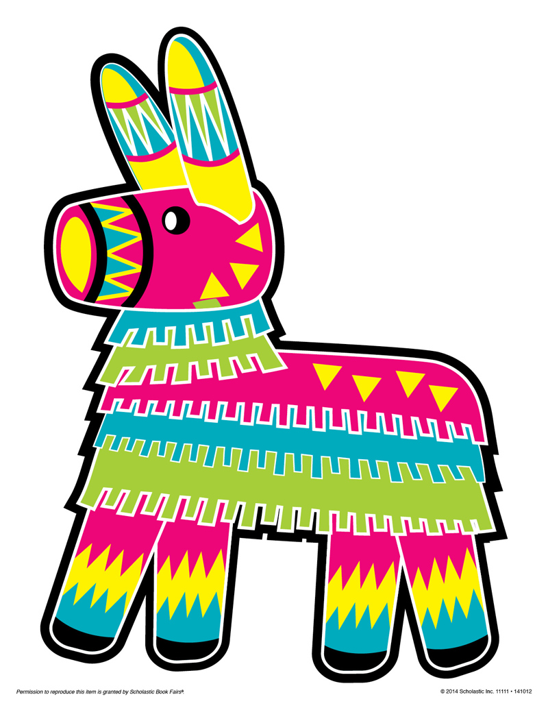 Donkey Pinata Clipart Rf Pinata Clipart Pictures To Pin On Pinterest