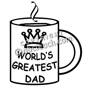 Father S Day Clip Art Black And White   Clipart Panda   Free Clipart