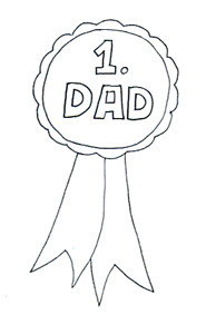 Father's Day Black And White Clipart - Clipart Suggest