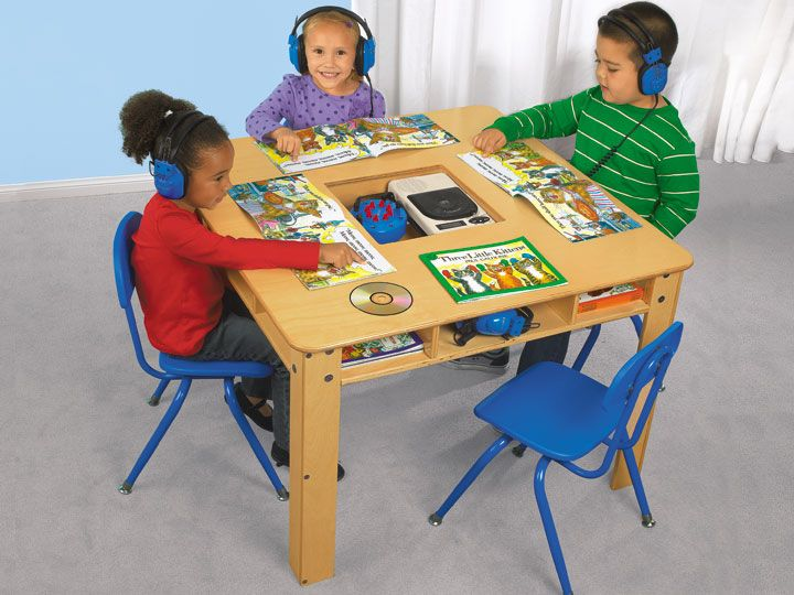 Listening Center Table   18   Classroom Organization   Pinterest