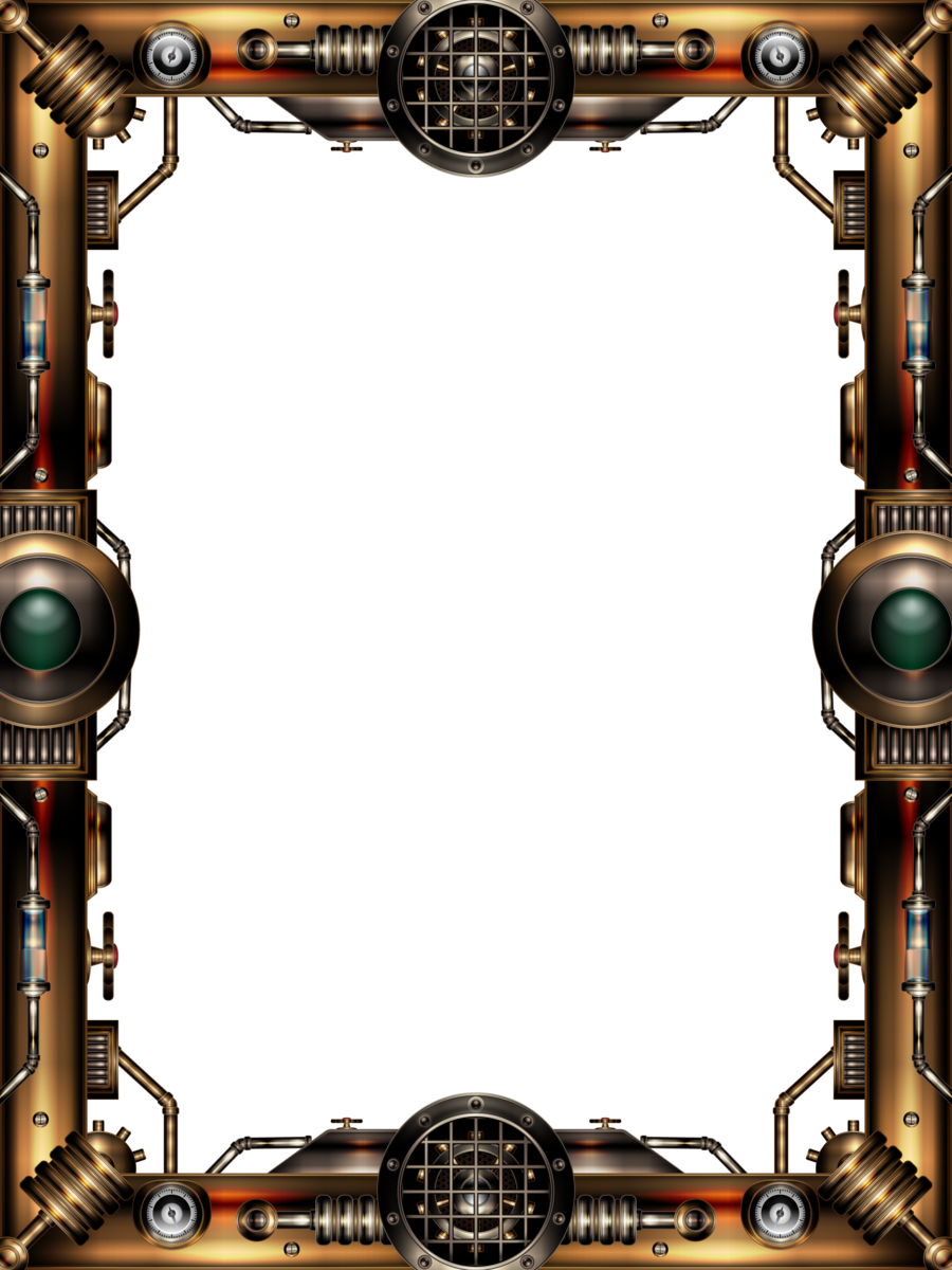 Steampunk Frame By Illustratorg On Deviantart