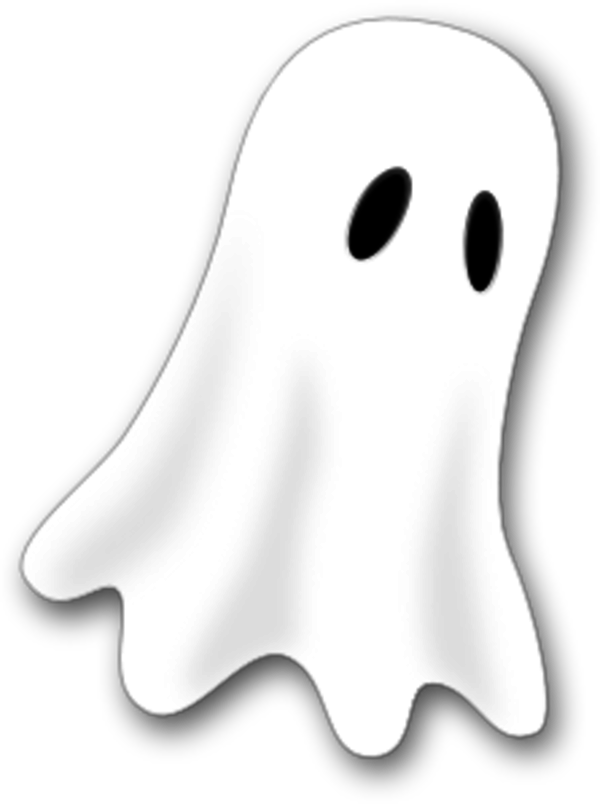 scary ghost clipart clipart suggest