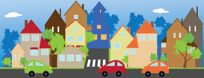 Town Stock Illustrations Vectors   Clipart    48033 Stock