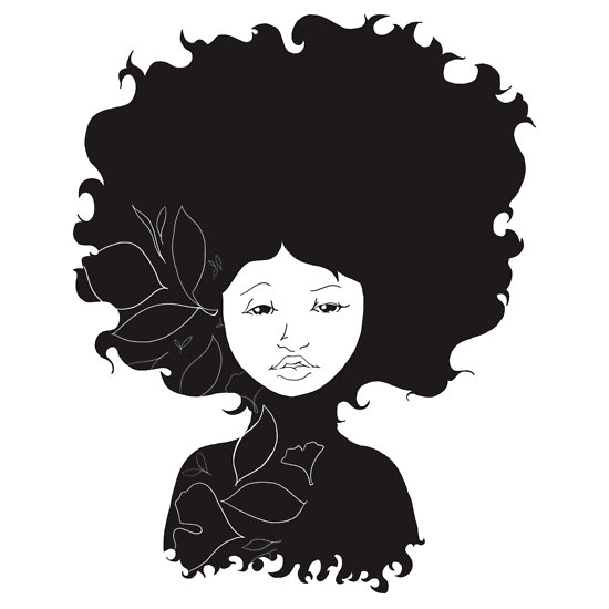 10 Afro Silhouette Free Cliparts That You Can Download To You Computer