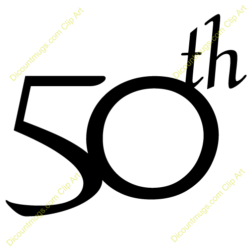 50th Birthday Clipart - Clipart Kid