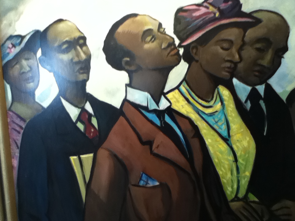 African Americans In Church By Dawn Schreiner