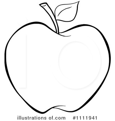 Clip Art Free Apple Clipart apple black and white clipart kid 1111941 illustration by hit toon