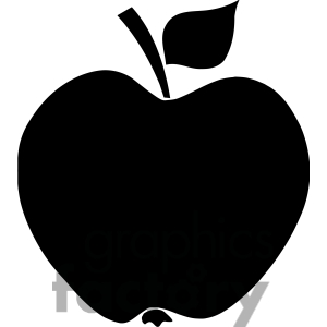 Apple Clipart Black And White   Clipart Panda   Free Clipart Images