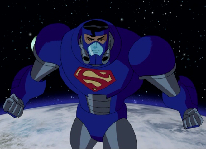 Black Suit Superman Animated Some Time Later Superman Went