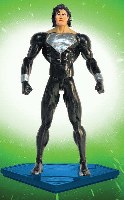 Black Suit Superman Comic Superman Returned From The