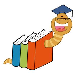 Bookworm Clip Art Images Bookworm Stock Photos   Clipart Bookworm